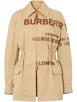 Burberry куртка Horseferry с аппликацией-логотипом 4564167