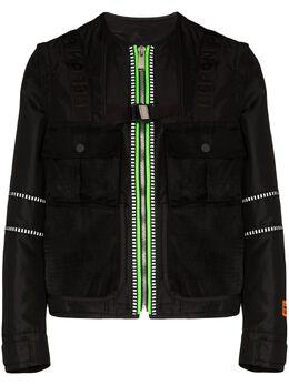 Heron Preston куртка на молнии HMEA039S208820071000
