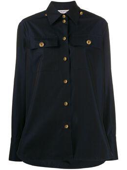 Givenchy рубашка на пуговицах с логотипом BW60L612HE
