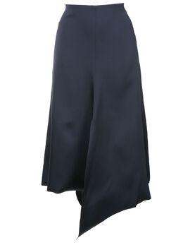 Tibi юбка асимметричного кроя с драпировкой F218BA5082