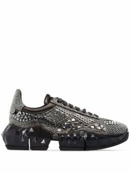 Jimmy Choo кроссовки Diamond с кристаллами DIAMONDFXIH