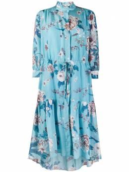 Dvf Diane Von Furstenberg платье с цветочным принтом 14749DVF