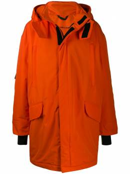 Raf Simons куртка оверсайз из коллаборации с Templa 192100T30110