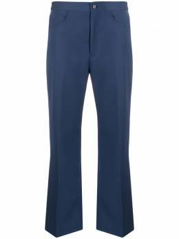 Jil Sander укороченные брюки с завышенной талией JSPQ301705WQ201400