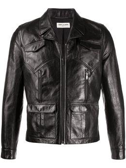 Saint Laurent куртка на молнии 611050Y5RD2