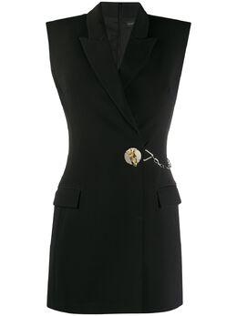 David Koma платье-блейзер с декоративными пуговицами SS20DK23TJDA