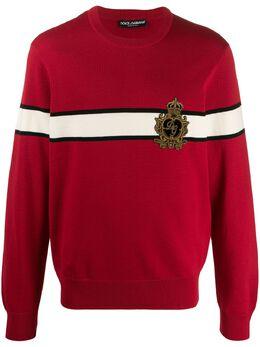 Dolce&Gabbana джемпер с логотипом GX841ZJAVTH