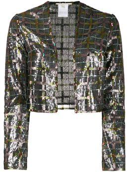 Marco De Vincenzo декорированный клетчатый жакет MJ5114000