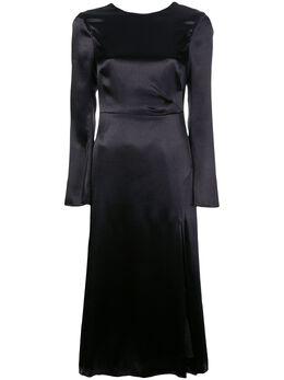 Cinq A Sept платье Paulena с длинными рукавами ZD11042740Z