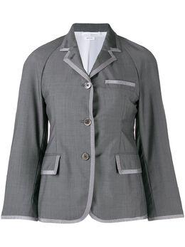 Thom Browne пиджак с рукавами реглан FBC648B00364