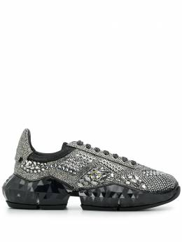 Jimmy Choo кроссовки Diamond с кристаллами DIAMONDMXIH