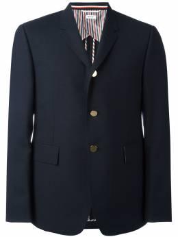 Thom Browne пиджак с карманами с клапанами MJC001H00473