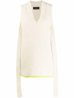 Alanui кашемировое платье Bright Touch LWHI008F1900103101P2