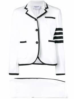 Thom Browne трикотажный костюм с полосками 4-Bar FSJ001A00535