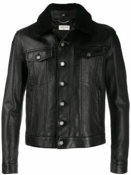 Saint Laurent куртка с овчиной 575630YC2QF