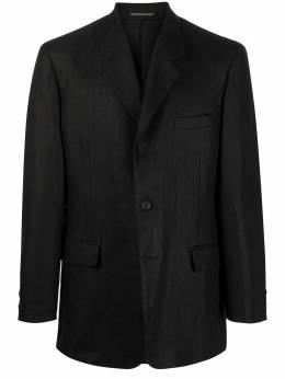 Yohji Yamamoto однобортный пиджак HNJ80350