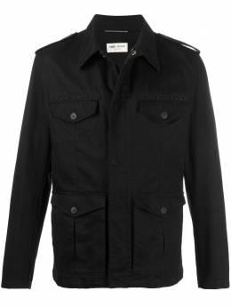 Saint Laurent декорированная куртка 598229Y253Q