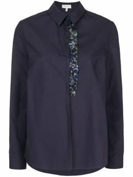 Delpozo декорированная поплиновая юбка 2192512003
