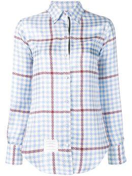 Thom Browne рубашка в клетку FLL005A06089