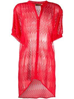 Missoni Mare рубашка тонкой вязки MMQ00153BR00AE