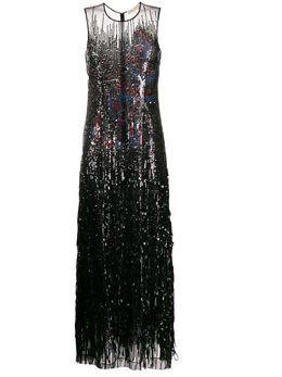 Emilio Pucci платье макси с пайетками 0ERI550E893