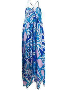 Emilio Pucci платье Georgette с принтом 0EWL050E754