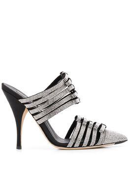 Marco De Vincenzo декорированные туфли-лодочки с заостренным носком MXV323MDVST01