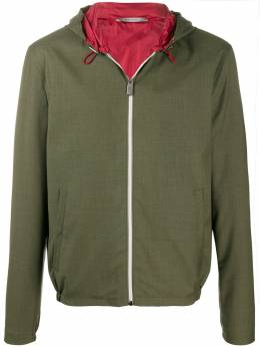 Canali куртка на молнии с капюшоном O40528SR01620