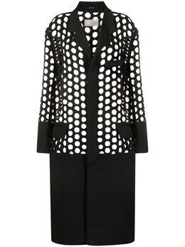 Maison Margiela однобортное пальто с вырезами S29AA0250S52890