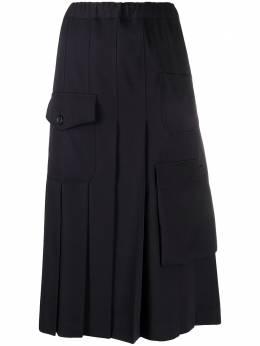 Comme Des Garcons Comme Des Garcons плиссированная юбка миди RES001