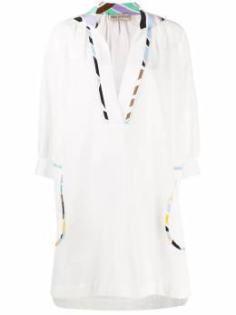 Emilio Pucci пляжное платье с абстрактным принтом 0HWG200H703