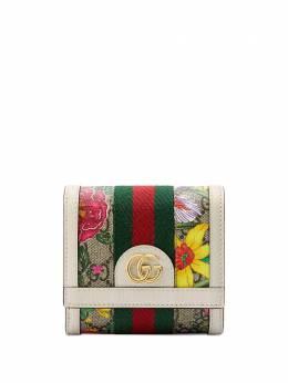 Gucci кошелек с узором Flora 59866292YBC