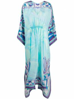 Emilio Pucci платье с абстрактным принтом 0HWI010H791