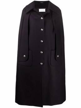 Maison Margiela пальто в стиле милитари с разрезами S29AM0346S53058