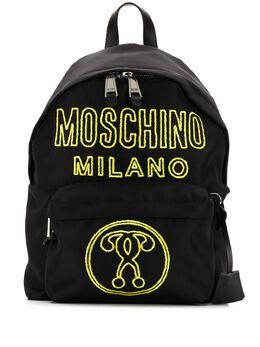 Moschino рюкзак с вышивкой A76018201