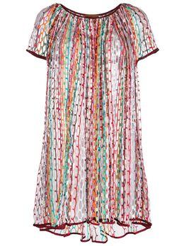 Missoni Mare платье с вышивкой MMQ00139BV004R