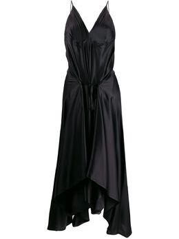 Ann Demeulemeester платье с драпировкой 19022260105