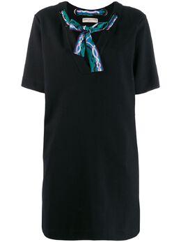 Emilio Pucci платье-трапеция с завязками 0EJG970E989