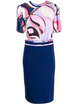 Emilio Pucci платье Heliconia с принтом 0ERH990E624