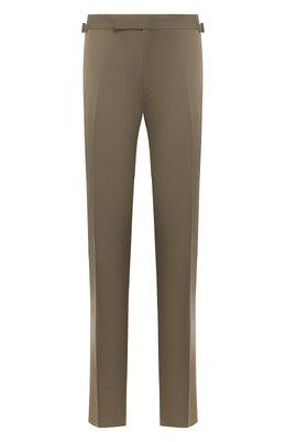 Хлопковые брюки Tom Ford 774R25/61004Z