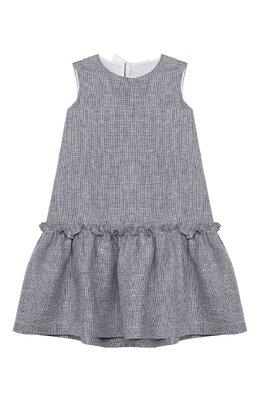 Льняное платье Il Gufo P20VA254L0011/5A-8A