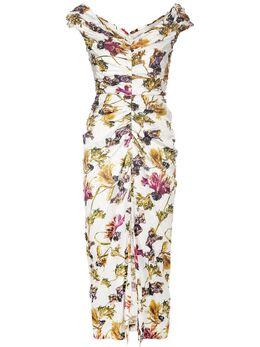Jason Wu Collection платье с цветочным принтом S2013010B
