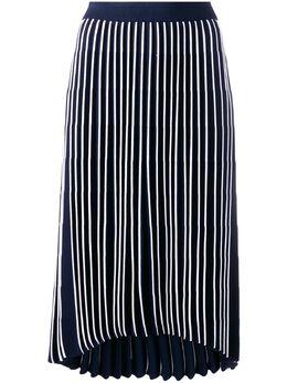 Thom Browne юбка в полоску с завышенной талией FKK059A03131