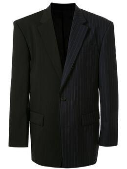 Juun.J пиджак с контрастной вставкой JC0211P615