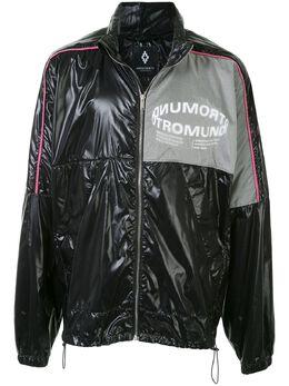 Marcelo Burlon County Of Milan легкая куртка со вставками CMEB028R20FAB0021001