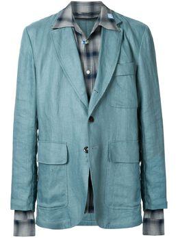 Maison Mihara Yasuhiro пиджак свободного кроя A04JK042