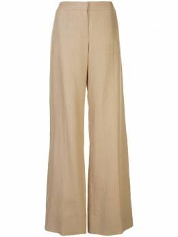 Oscar De La Renta брюки широкого кроя 20SN387LLIBEI