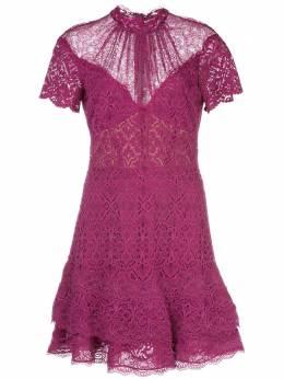 Jonathan Simkhai короткое кружевное платье 1201083A