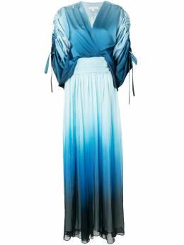 Jonathan Simkhai платье макси со вставками и эффектом омбре 1201139N