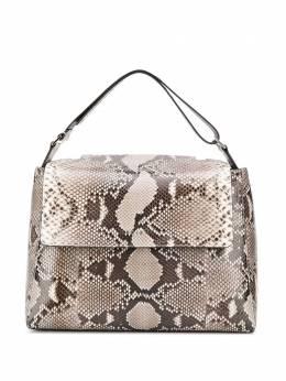 Orciani сумка-тоут с тиснением под змеиную кожу B02006DIAMOND